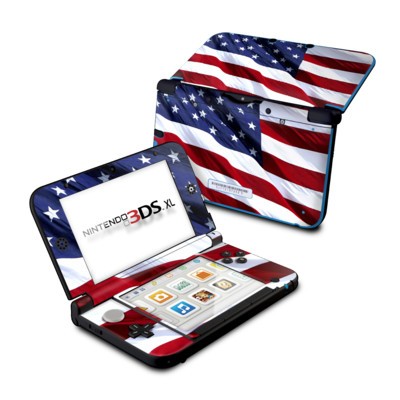 Nintendo 3DS XL Skin - Patriotic