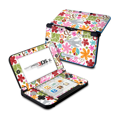 Nintendo 3DS XL Skin - Peace Things