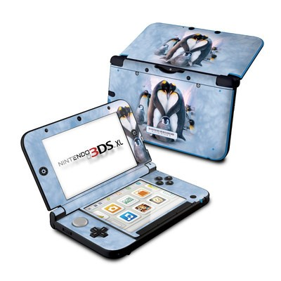 Nintendo 3DS XL Skin - Penguin Heart