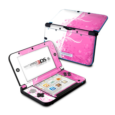 Nintendo 3DS XL Skin - Pink Crush