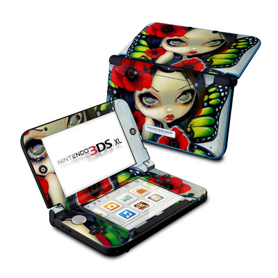 Nintendo 3DS XL Skin - Poppy Magic