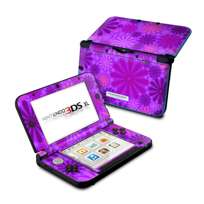 Nintendo 3DS XL Skin - Purple Punch
