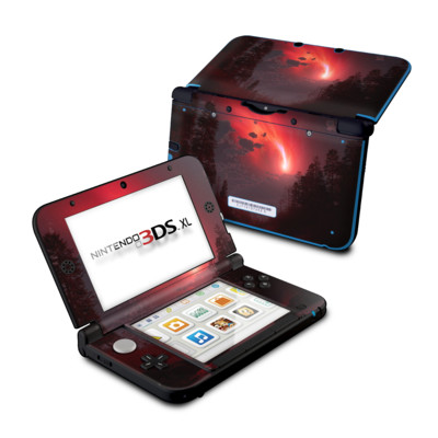 Nintendo 3DS XL Skin - Red Harbinger