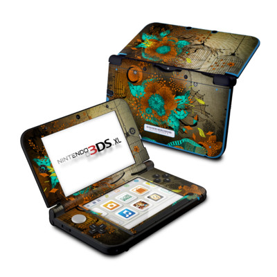 Nintendo 3DS XL Skin - Rusty Lace