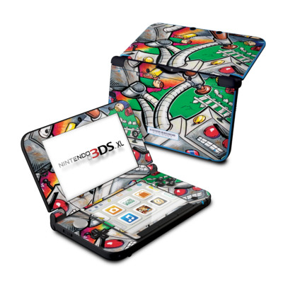 Nintendo 3DS XL Skin - Robot Beatdown