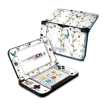 Nintendo 3DS XL Skin - Royal Birds