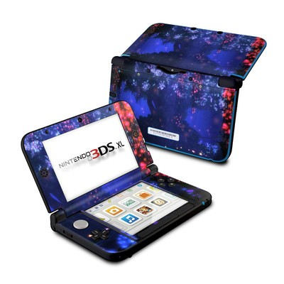 Nintendo 3DS XL Skin - Satori Night
