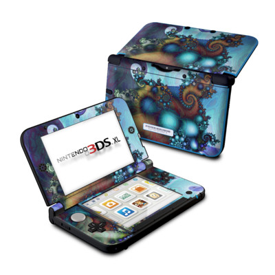 Nintendo 3DS XL Skin - Sea Jewel
