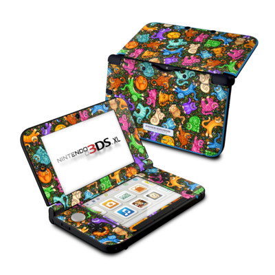 Nintendo 3DS XL Skin - Sew Catty