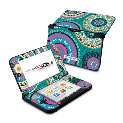 Nintendo 3DS XL Skin - Silk Road