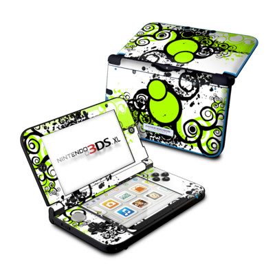 Nintendo 3DS XL Skin - Simply Green