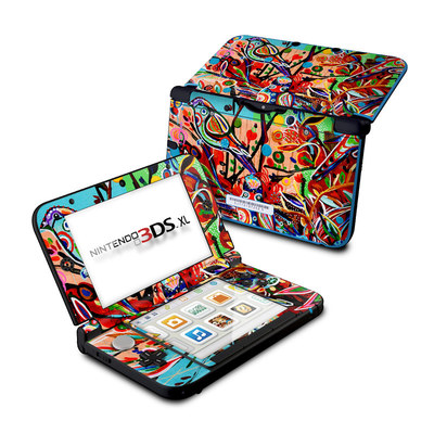 Nintendo 3DS XL Skin - Spring Birds