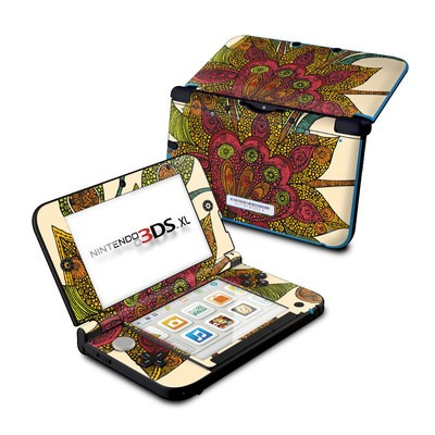 Nintendo 3DS XL Skin - Spring Flower