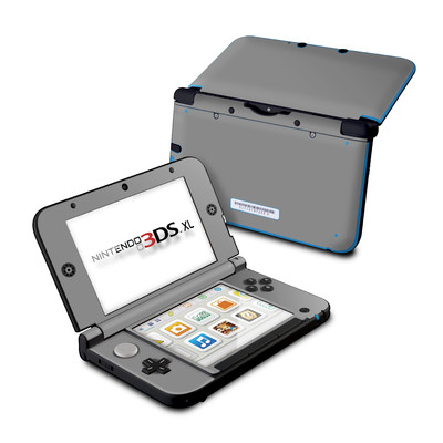 Nintendo 3DS XL Skin - Solid State Grey