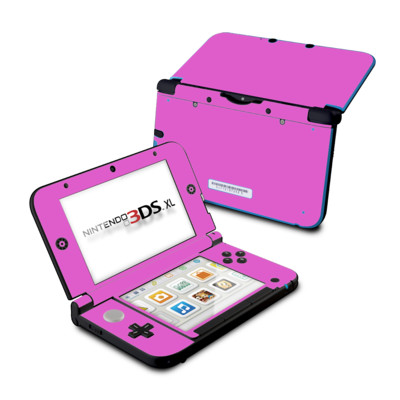 Nintendo 3DS XL Skin - Solid State Vibrant Pink