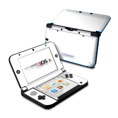 Nintendo 3DS XL Skin - Solid State White
