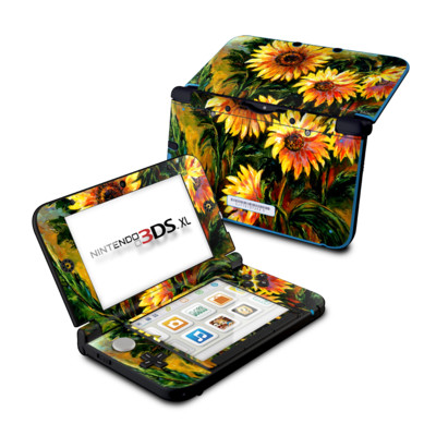 Nintendo 3DS XL Skin - Sunflower Sunshine