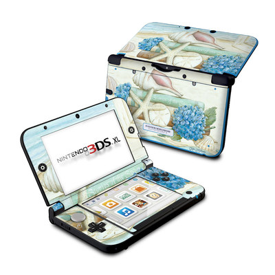 Nintendo 3DS XL Skin - Stories of the Sea