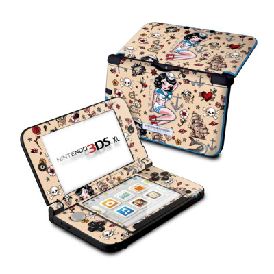 Nintendo 3DS XL Skin - Suzy Sailor