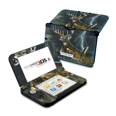 Nintendo 3DS XL Skin - Thunder Buck
