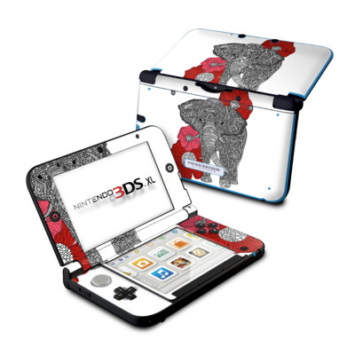 Nintendo 3DS XL Skin - The Elephant