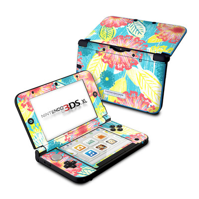 Nintendo 3DS XL Skin - Tickled Peach