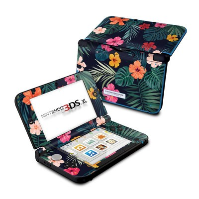 Nintendo 3DS XL Skin - Tropical Hibiscus