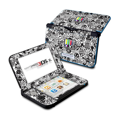 Nintendo 3DS XL Skin - TV Kills Everything