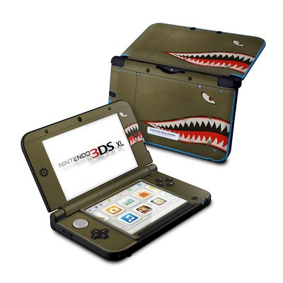 Nintendo 3DS XL Skin - USAF Shark