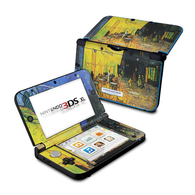 Nintendo 3DS XL Skin - Cafe Terrace At Night