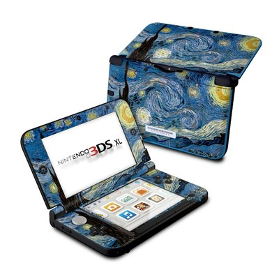Nintendo 3DS XL Skin - Starry Night