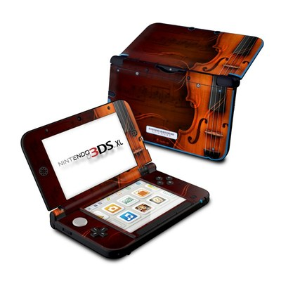 Nintendo 3DS XL Skin - Violin