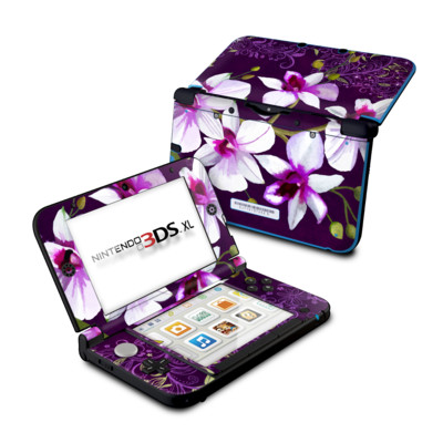 Nintendo 3DS XL Skin - Violet Worlds