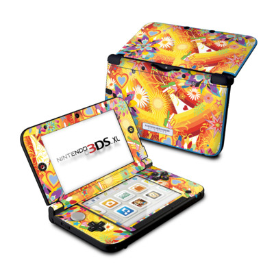 Nintendo 3DS XL Skin - Wall Flower