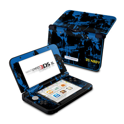 Nintendo 3DS XL Skin - Water Heist