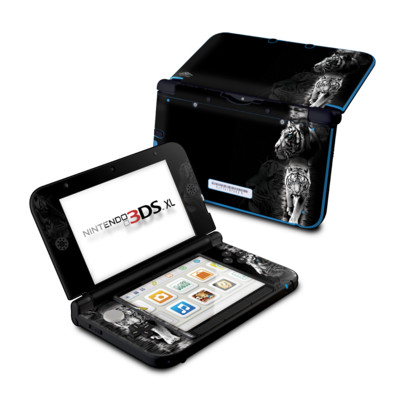 Nintendo 3DS XL Skin - White Tiger