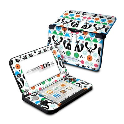 Nintendo 3DS XL Skin - Winter Forest
