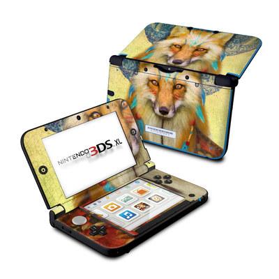 Nintendo 3DS XL Skin - Wise Fox