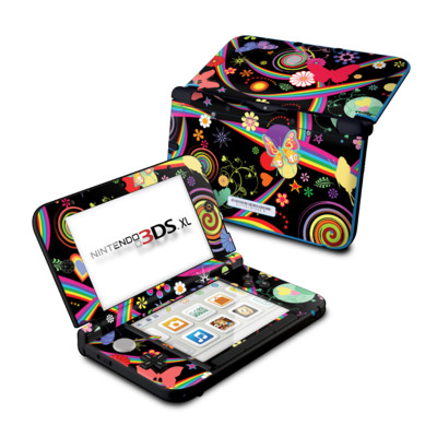 Nintendo 3DS XL Skin - Wonderland