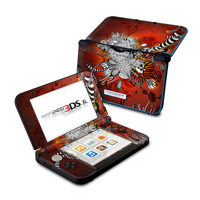 Nintendo 3DS XL Skin - Wild Lilly