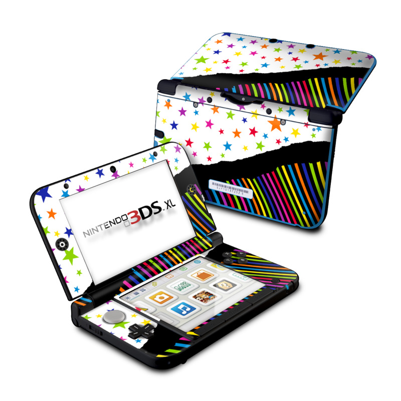 Nintendo 3ds Xl Colors : Nintendo ds xl skin color wave by fp decalgirl
