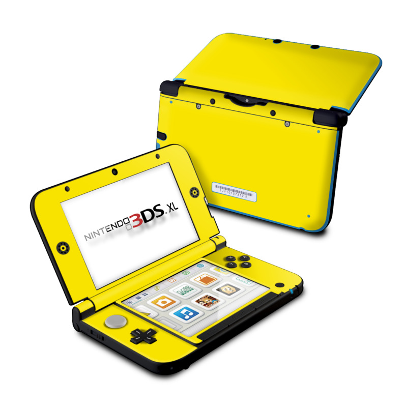 Nintendo 3ds Xl Colors : Nintendo ds xl skin solid state yellow by colors