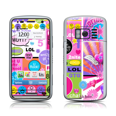 Nokia C6 Skin - BFF Girl Talk