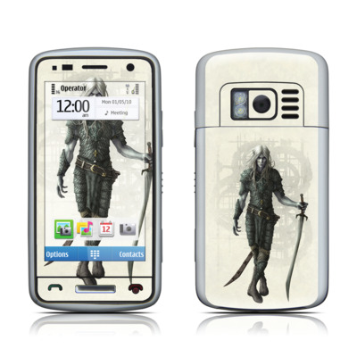 Nokia C6 Skin - Dark Elf