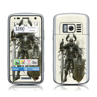 Nokia C6 Skin - Dark Knight