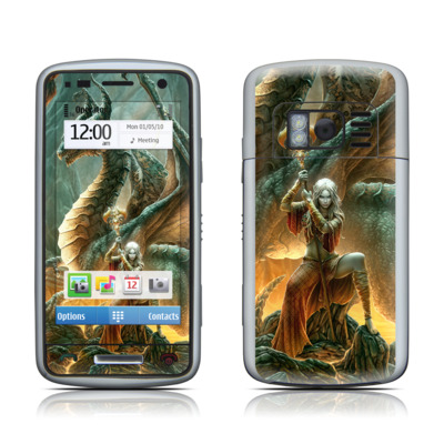 Nokia C6 Skin - Dragon Mage