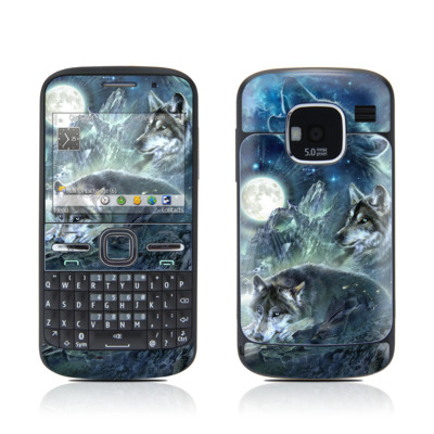 Nokia E5 Skin - Bark At The Moon