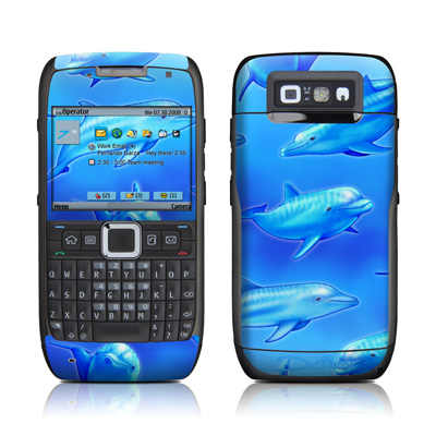 E71 Skin - Swimming Dolphins