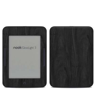 Barnes & Noble NOOK GlowLight 3 Skin - Black Woodgrain