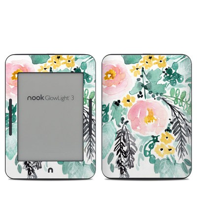 Barnes & Noble NOOK GlowLight 3 Skin - Blushed Flowers